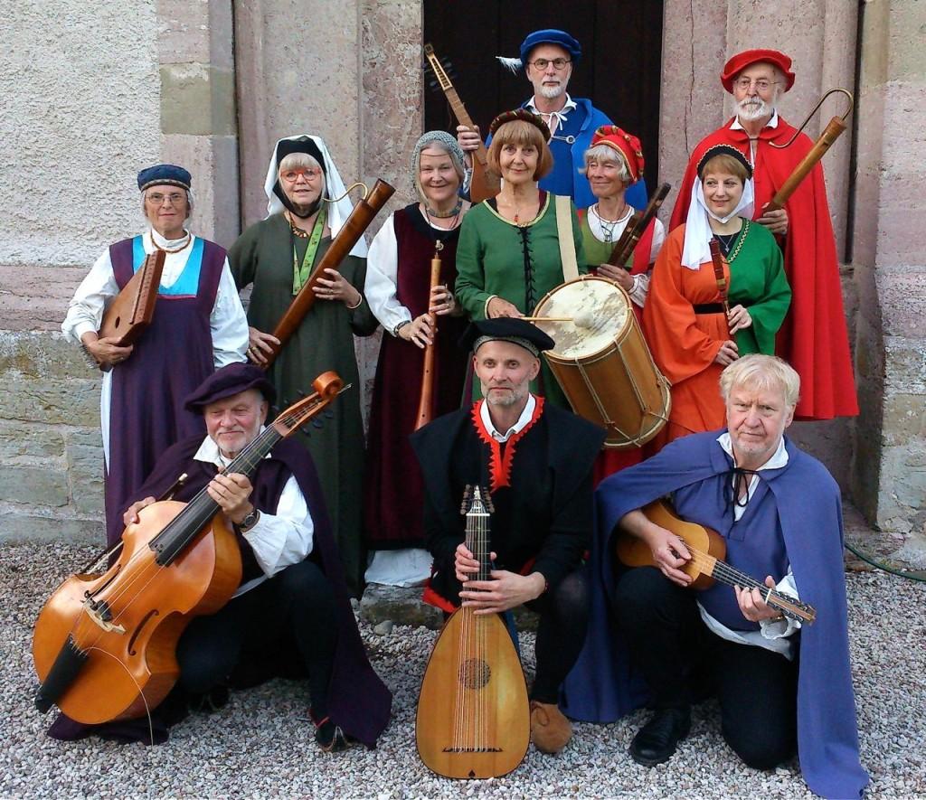 Vamlingbo kyrka efter konsert